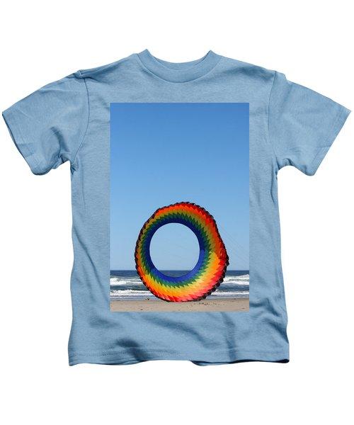 Kite And Dog Kids T-Shirt