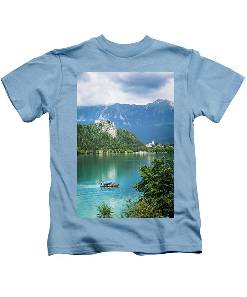 Lake Bled, Upper Carniola, Slovenia Kids T-Shirt