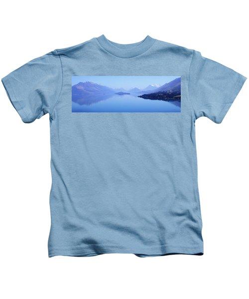 Lake Glenorchy New Zealand Kids T-Shirt
