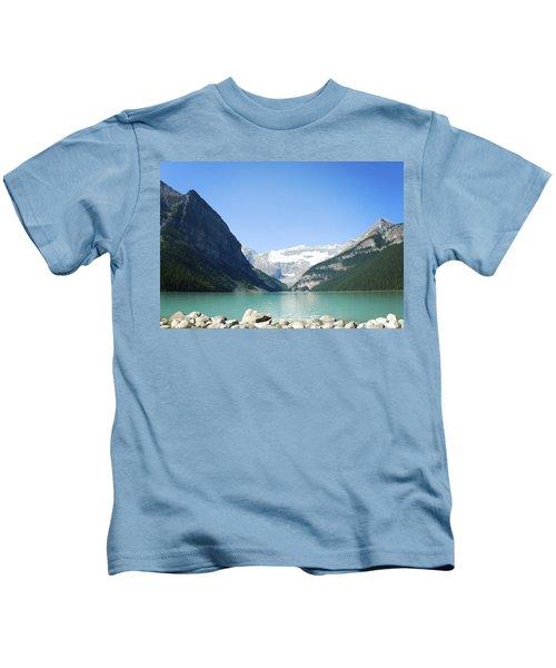 Lake Louise Alberta Canada Kids T-Shirt