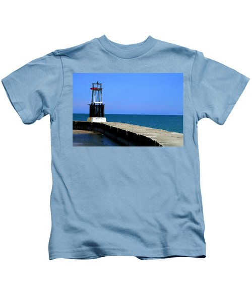 Lakefront Pier Tower Kids T-Shirt