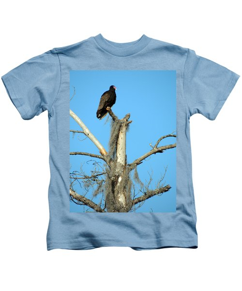 Larry Buzzard Vulture Kids T-Shirt