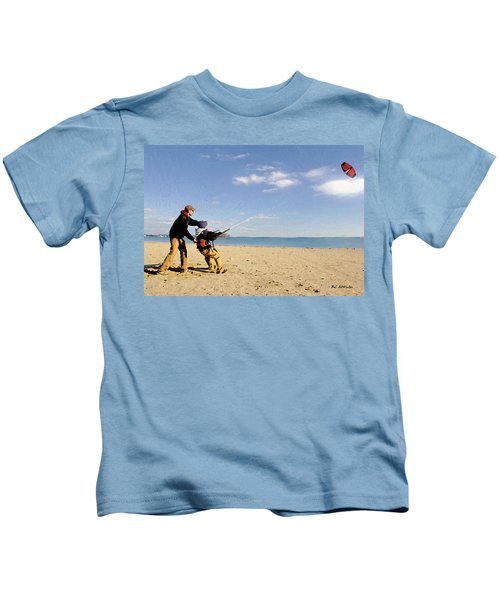 Let's Go Fly A Kite Kids T-Shirt