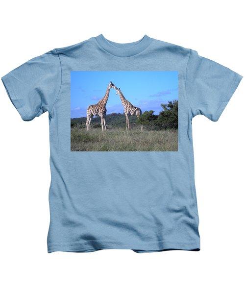 Lovers On Safari Kids T-Shirt