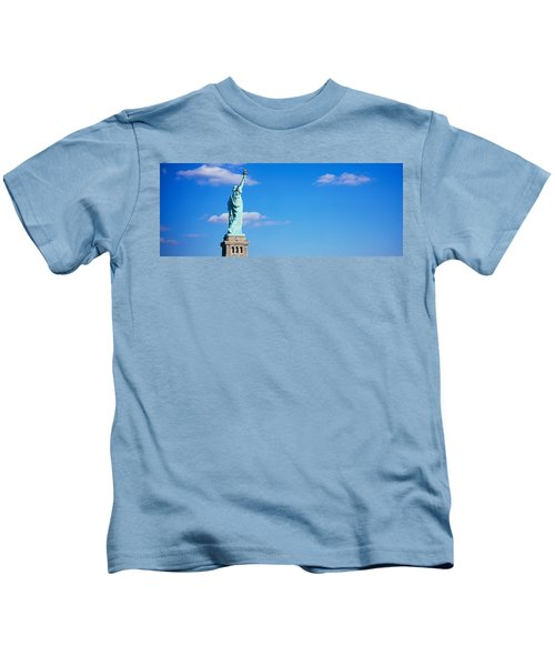 Low Angle View Of A Statue, Statue Kids T-Shirt