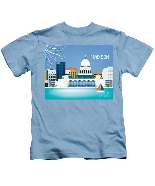 Madison Kids T-Shirt by Karen Young