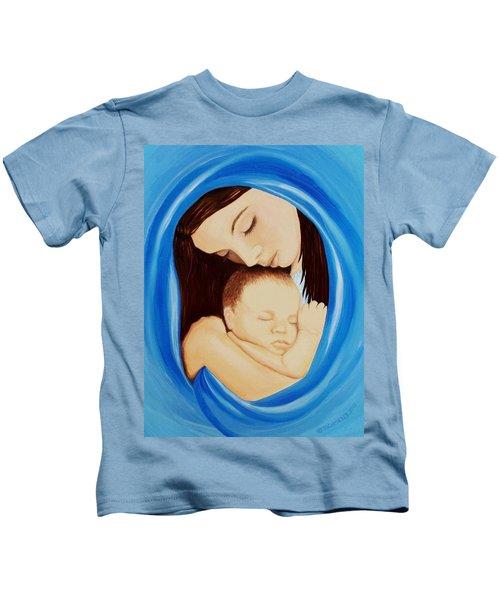 Madonna Of The Sea Kids T-Shirt