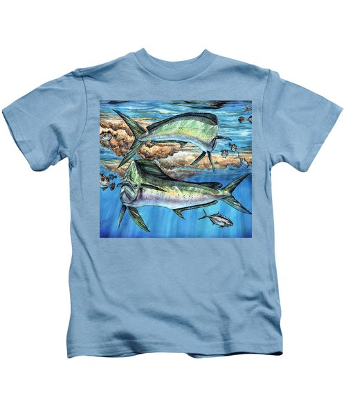 Magical Mahi Mahi Sargassum Kids T-Shirt