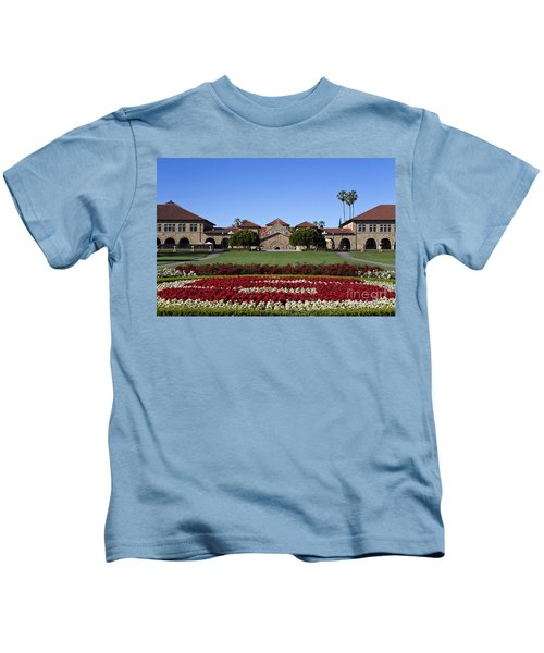 Main Quad Stanford California Kids T-Shirt