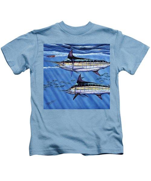 Marlins Twins Kids T-Shirt