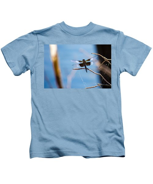 Merrill Creek Dragonfly Kids T-Shirt