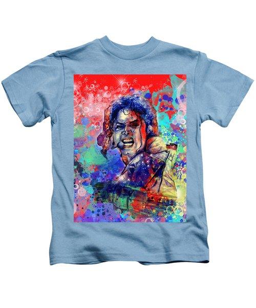 Michael Jackson 8 Kids T-Shirt