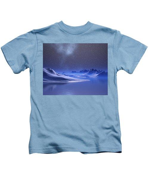 Midnight Snow Kids T-Shirt