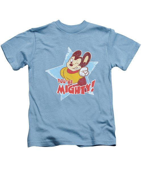 Mighty Mouse - You're Mighty Kids T-Shirt by Brand A