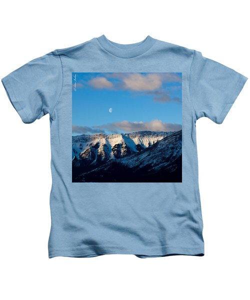 Morning In Mountains Kids T-Shirt