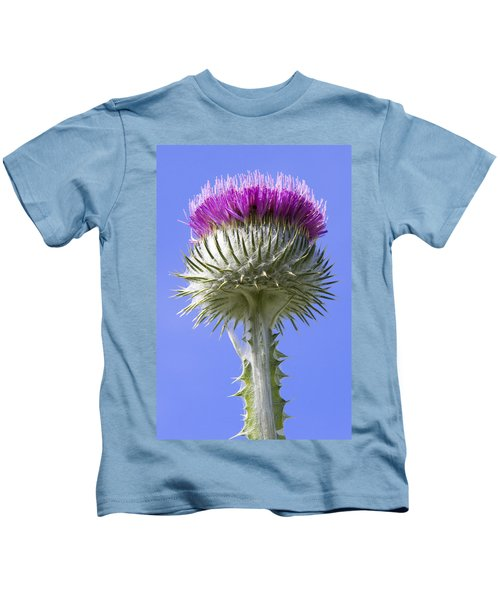 National Flower Of Scotland Kids T-Shirt
