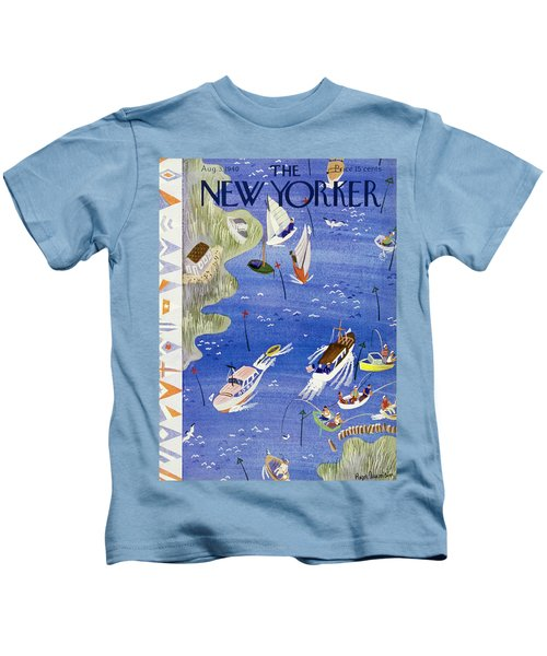 New Yorker August 3 1940 Kids T-Shirt