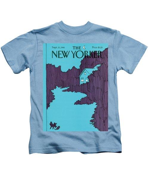 New Yorker September 21st, 1981 Kids T-Shirt