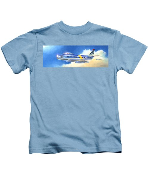 North American F-86f Sabre Kids T-Shirt