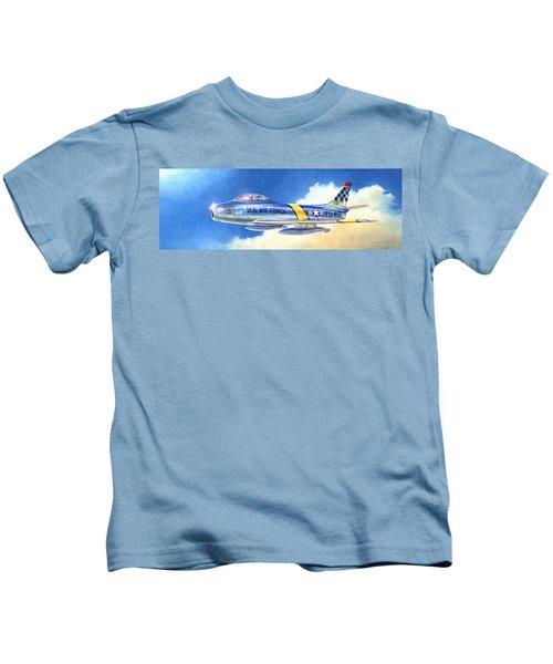 North American F-86f Sabre Kids T-Shirt