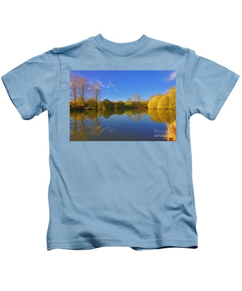November Lake 1 Kids T-Shirt