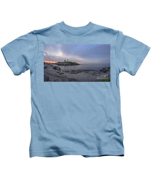 Nubble Lighthouse Kids T-Shirt