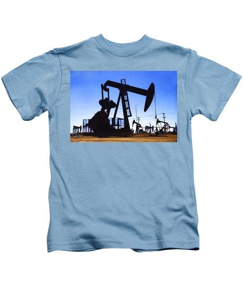 Oil Fields Kids T-Shirt
