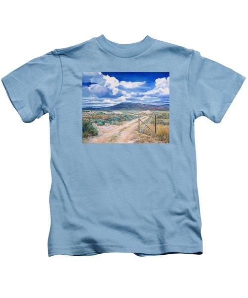 Osceola Nevada Ghost Town Kids T-Shirt