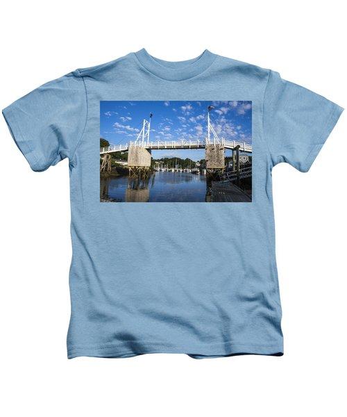 Perkins Cove - Maine Kids T-Shirt
