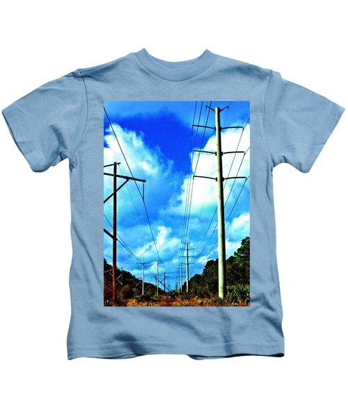 Power To The Infinity Kids T-Shirt