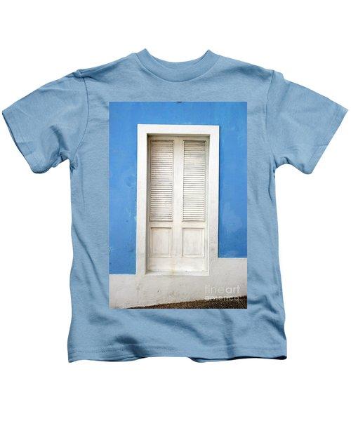 Puerta En El Viejo San Juan Kids T-Shirt