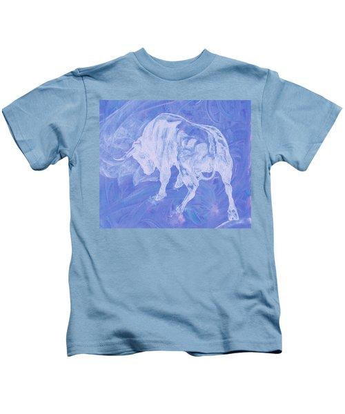 Purple Bull Negative Kids T-Shirt