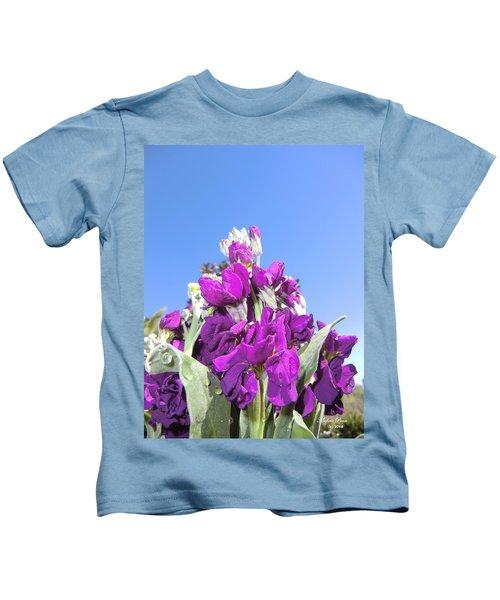 Purple Glow 2 Kids T-Shirt