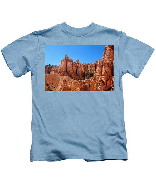 Queens Garden Window Kids T-Shirt