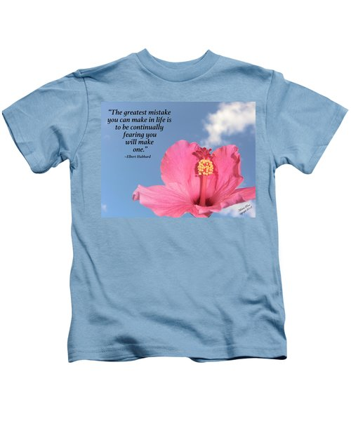 Quotes For The Soul Kids T-Shirt