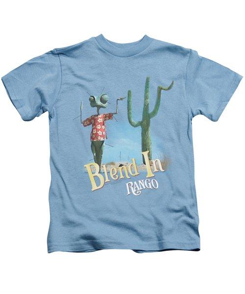 Rango - Blend In Kids T-Shirt