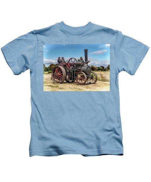 Ransomes Steam Engine Kids T-Shirt