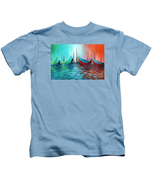 Reflecting Down Kids T-Shirt