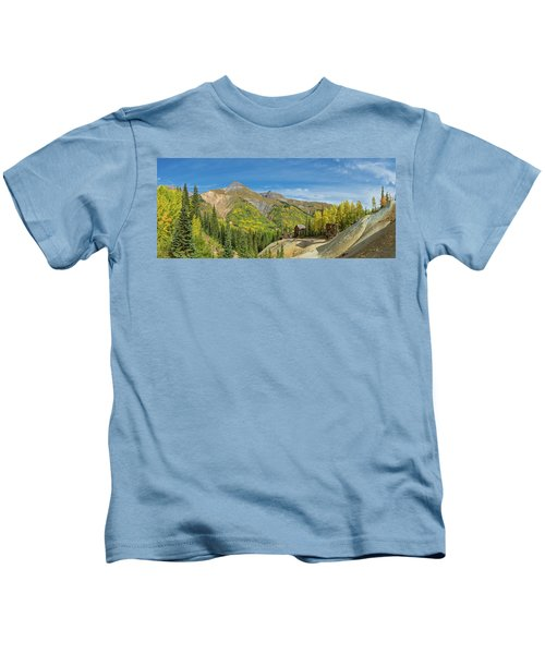 Remains Of Silver Mining In Red Kids T-Shirt