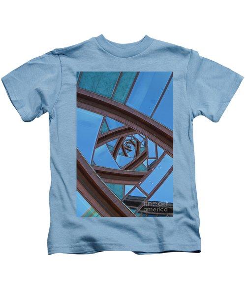 Revolving Blues. Kids T-Shirt