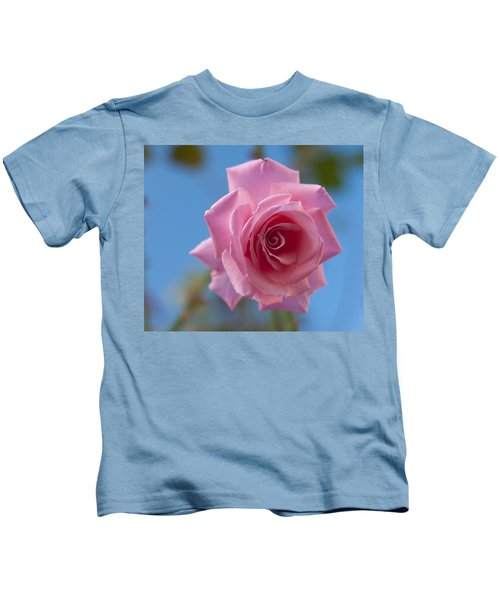 Roses In The Sky Kids T-Shirt