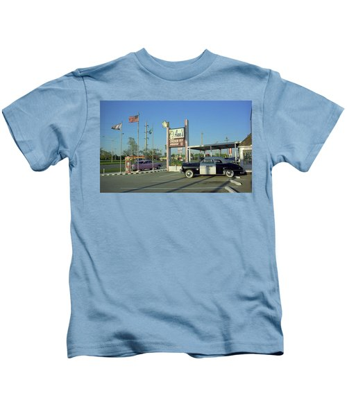 Route 66 - Anns Chicken Fry House Kids T-Shirt