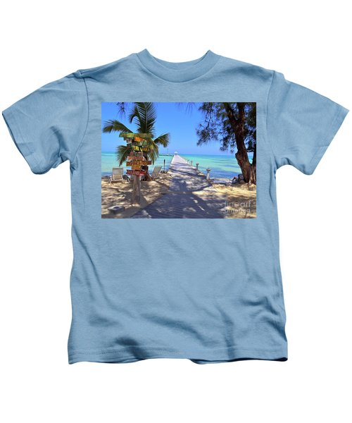 Rum Point Kids T-Shirt