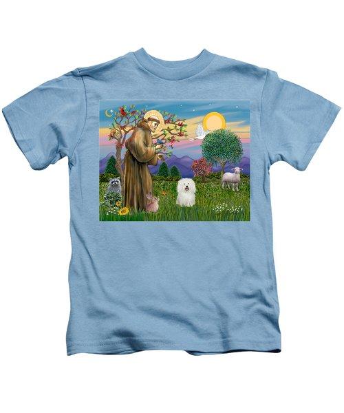 Saint Francis Blesses A Bolognese Kids T-Shirt