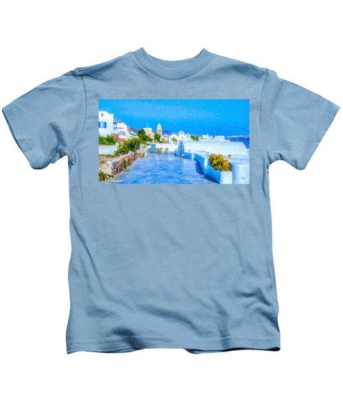 Santorini Grk4120 Kids T-Shirt