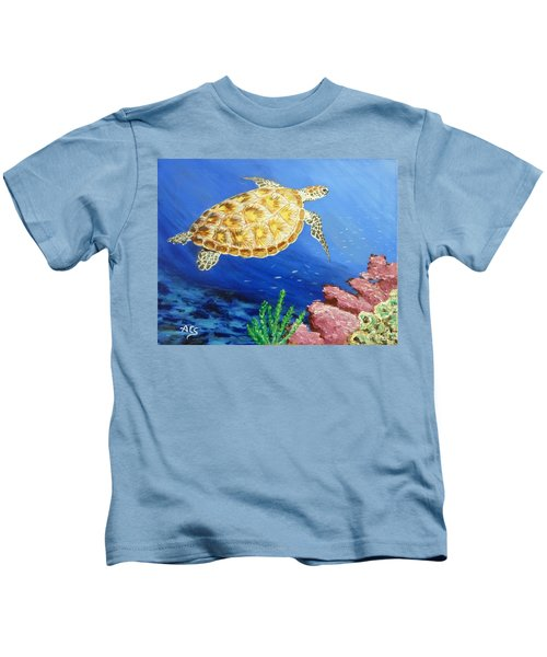 Sea Turtle Kids T-Shirt