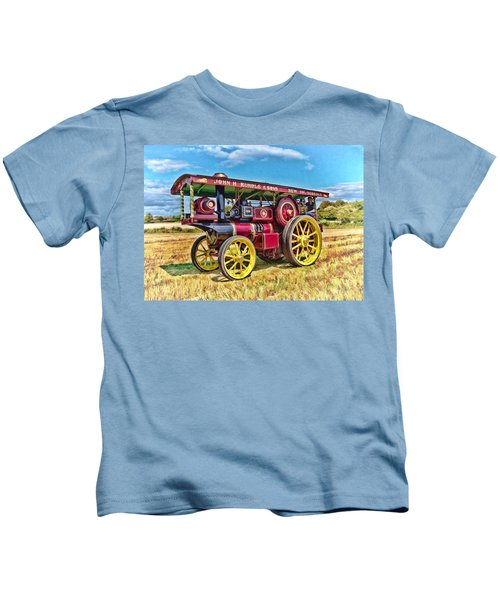 Showmans Engine Kids T-Shirt
