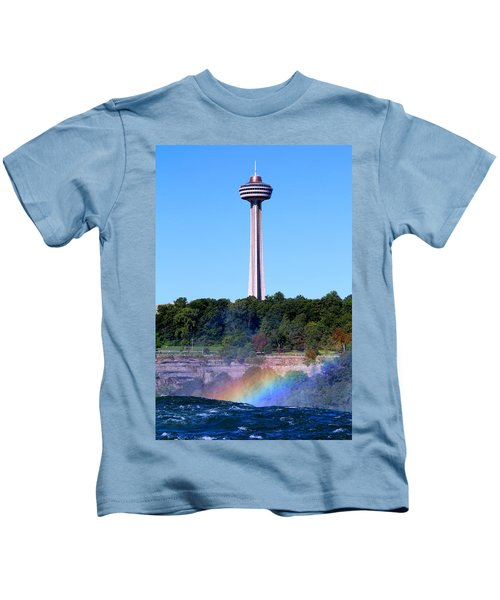 Skylon Tower Niagara Falls Kids T-Shirt