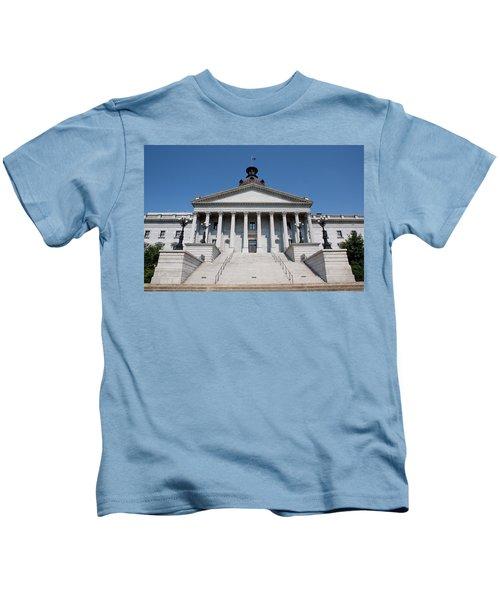 South Carolina State Capital Building Kids T-Shirt