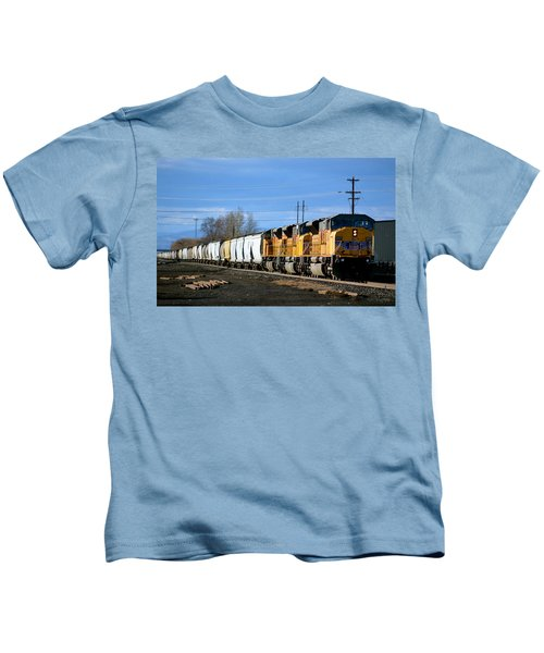 Southern Pacific Loading Up Kids T-Shirt